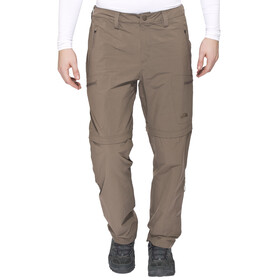 The North Face Exploration Convertible Pants Men Short weimaraner brown